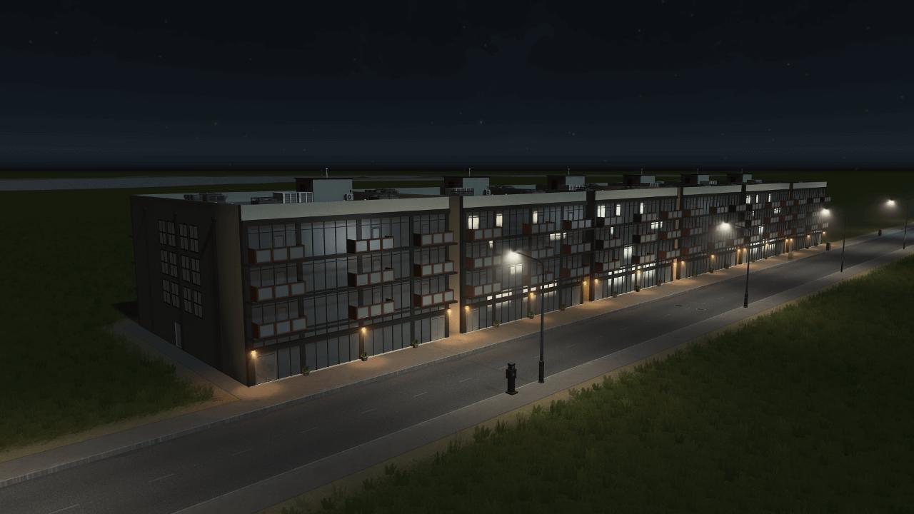 Cities: Skylines - Mid Rise Studio Apartment
