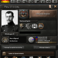 Hearts of Iron IV - Dokkar's Playable Lithuania