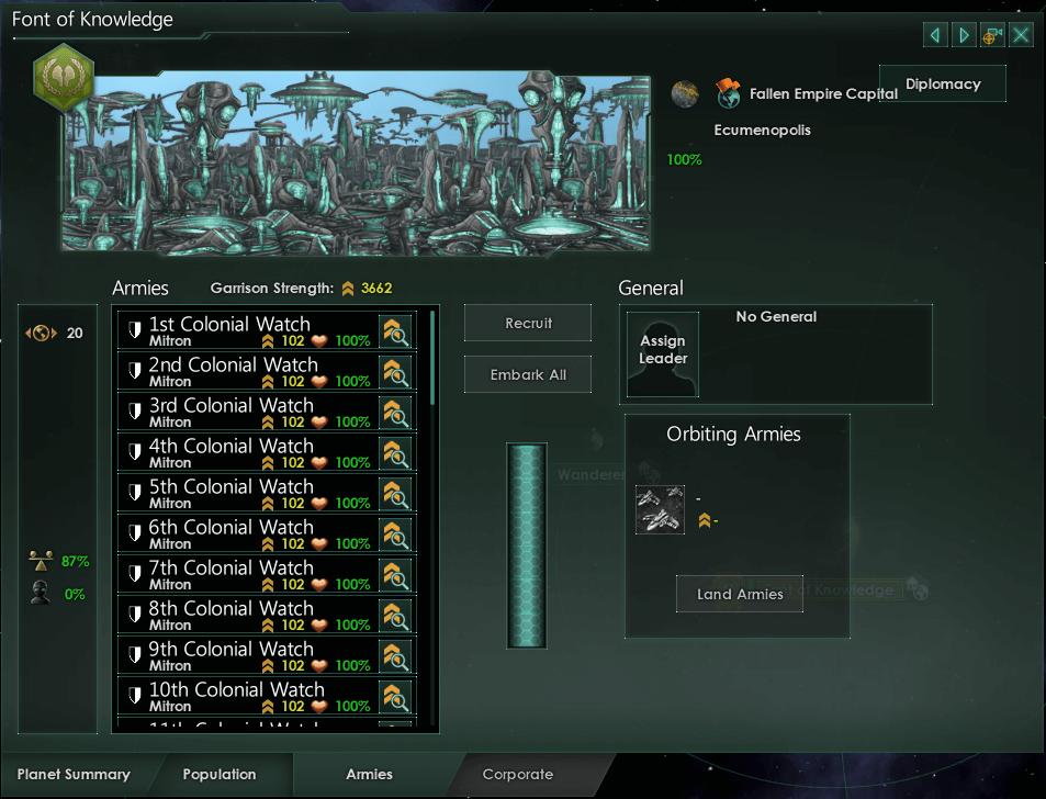 Stellaris - Planet View