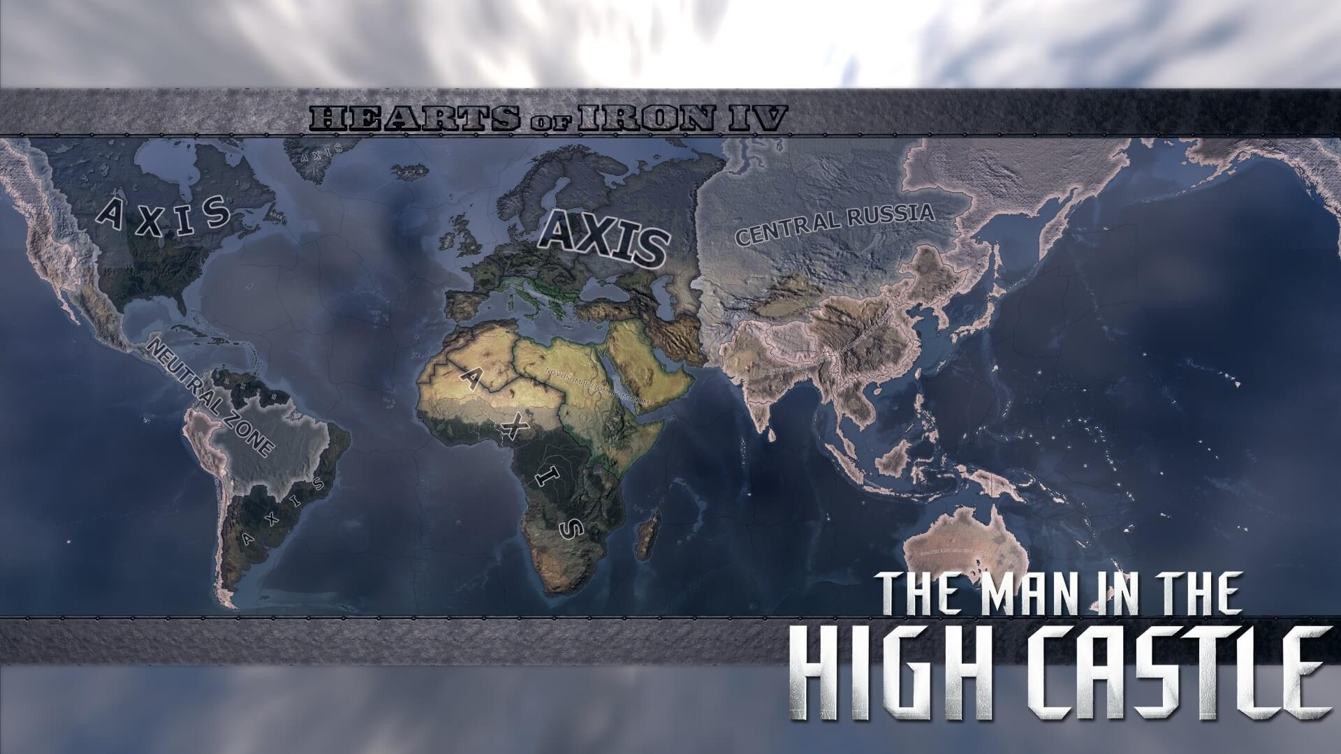 Hearts of Iron IV - The Man in the High Castle