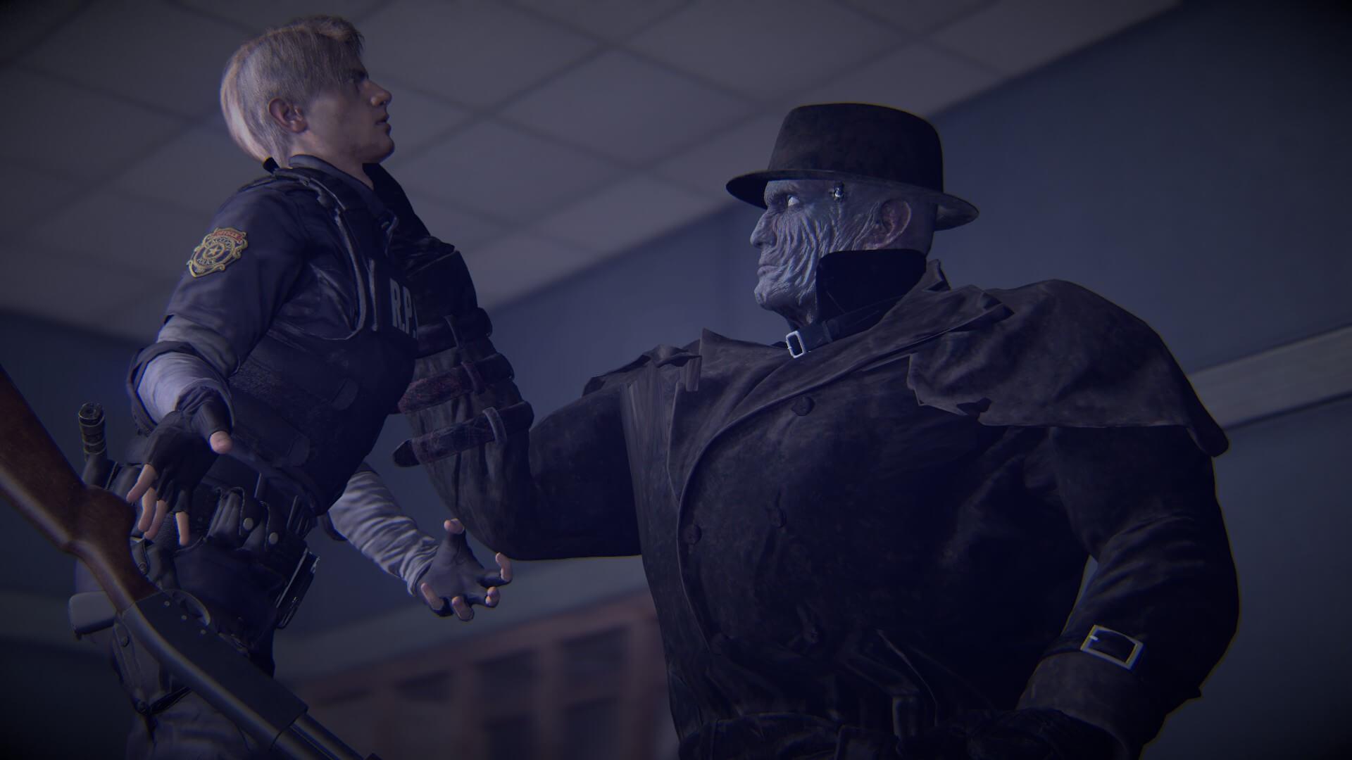 Garry's Mod - Мистер Икс из Resident Evil 2