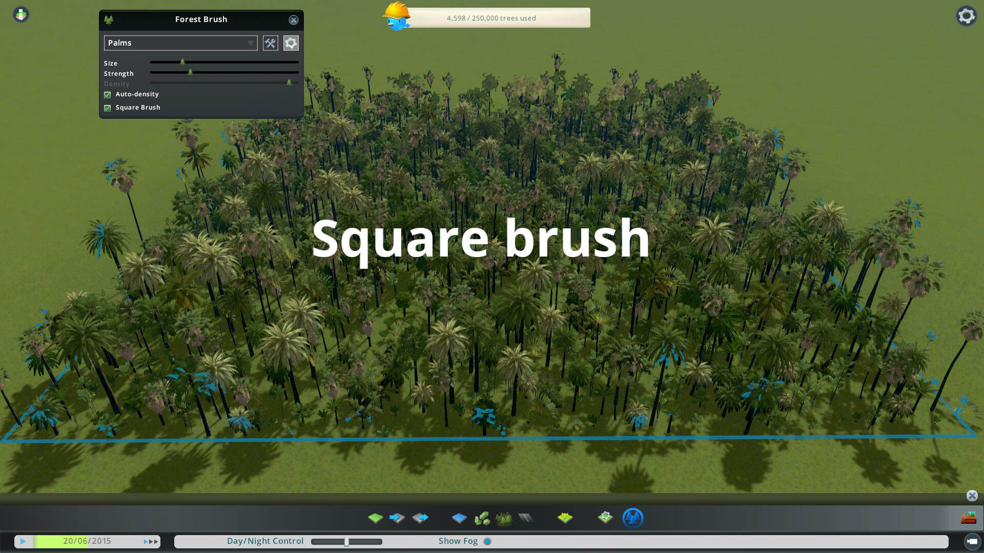 Cities: Skylines - Forest Brush