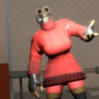 Garry's Mod - TF2 Hex: Fempyro Cosmetic Pack