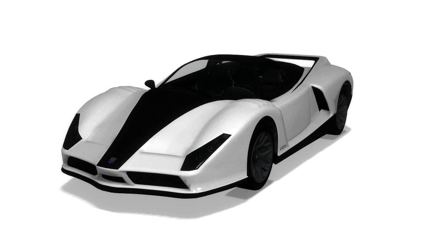 Garry's Mod - Rookie's simfphys Vehicles из GTA V