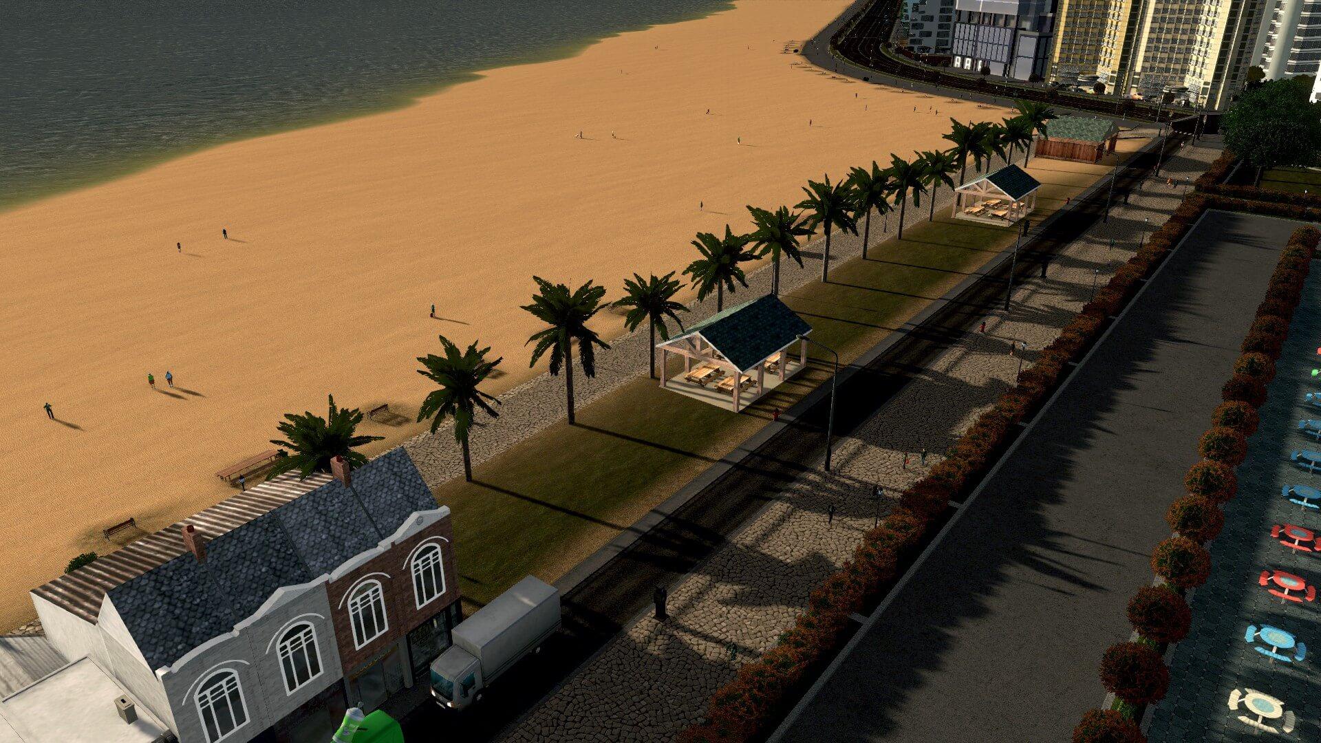 Cities: Skylines - Пальмовые деревья