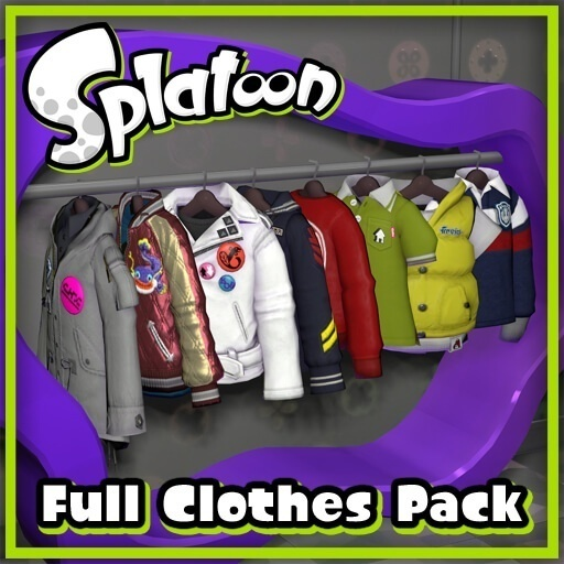 Garry's Mod - Пак одежды из Splatoon