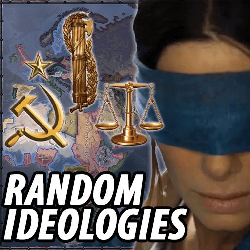 Hearts of Iron IV - Случайные идеологии / Random Ideology Mod