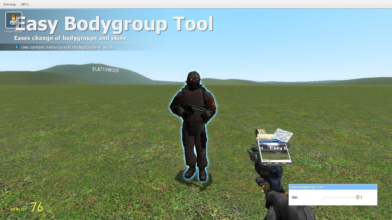 Garry's Mod - Easy Bodygroup Tool