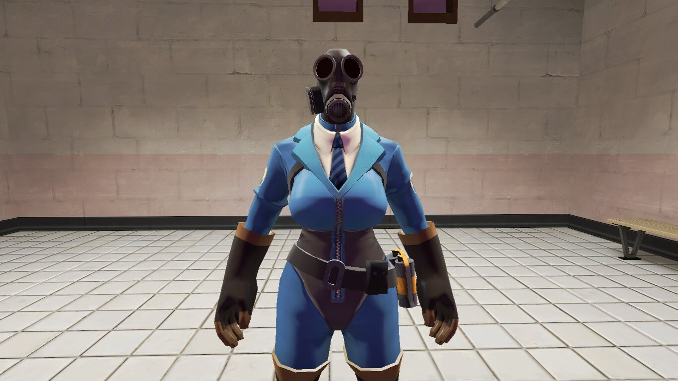 Garry's Mod - Soot Suit for Femme Pyro Hex