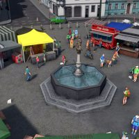 Cities: Skylines - Market Fountain, Aalen