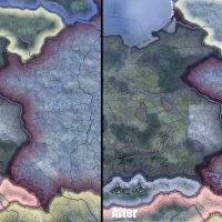 Hearts of Iron IV - Accurate Map / Точная карта