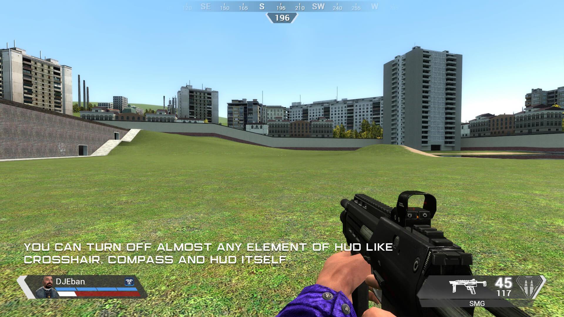 Garry's Mod - Интерфейс из Apex Legends