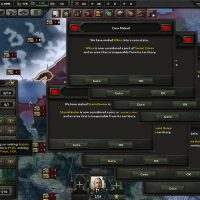 Hearts of Iron IV - Cores & Claims GUI