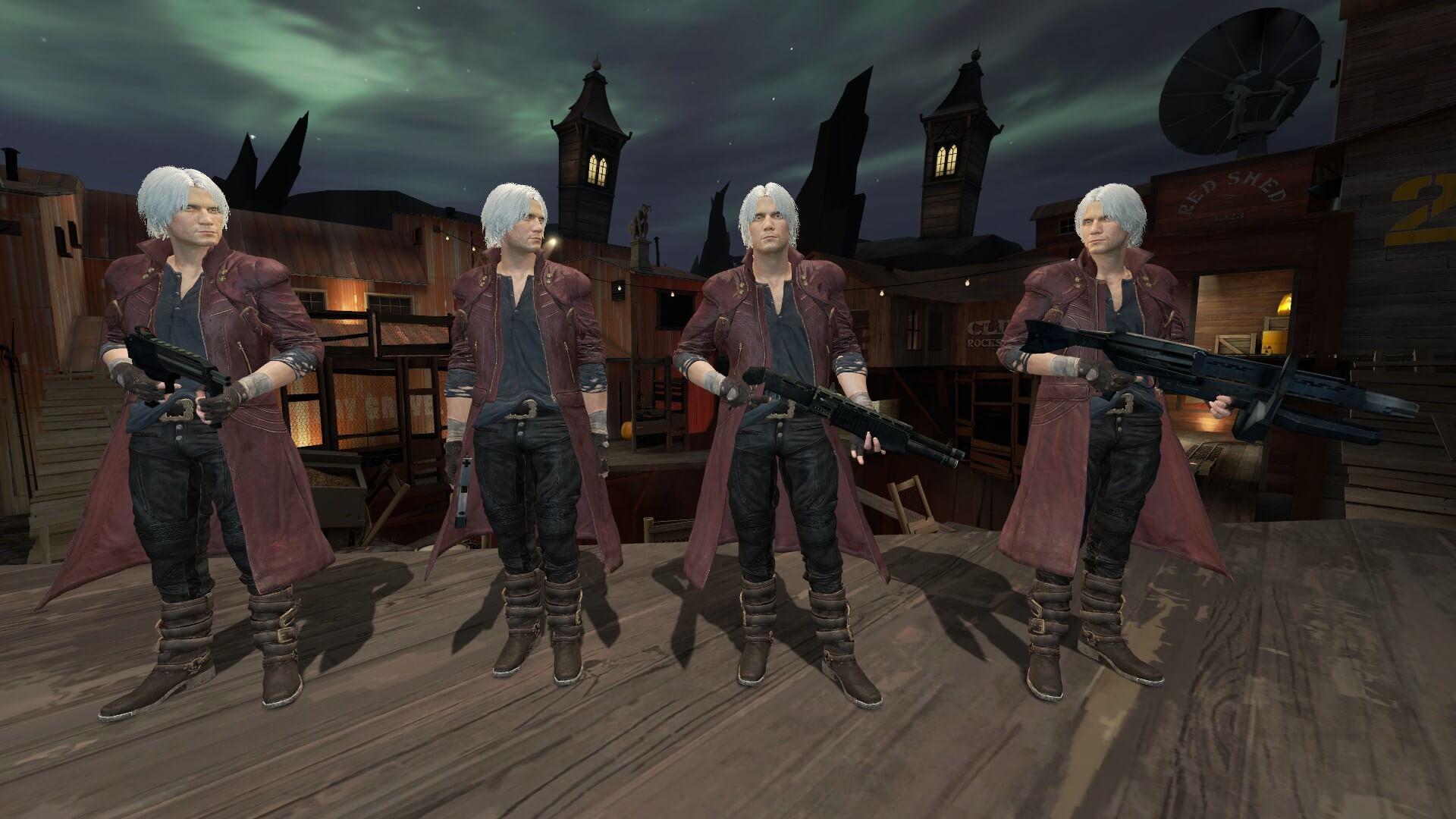 Garry's Mod - Данте из Devil May Cry 5