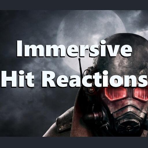 Fallout: New Vegas - Immersive Hit Reactions