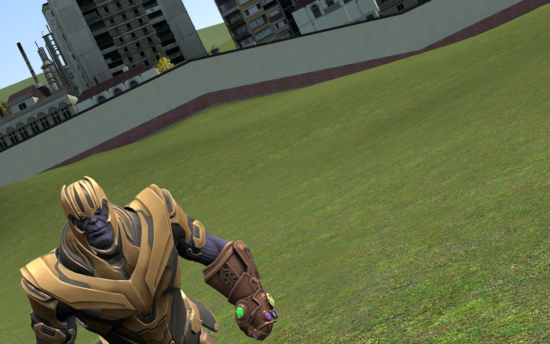 Garry's Mod - Thanos Nextbot (Joke)