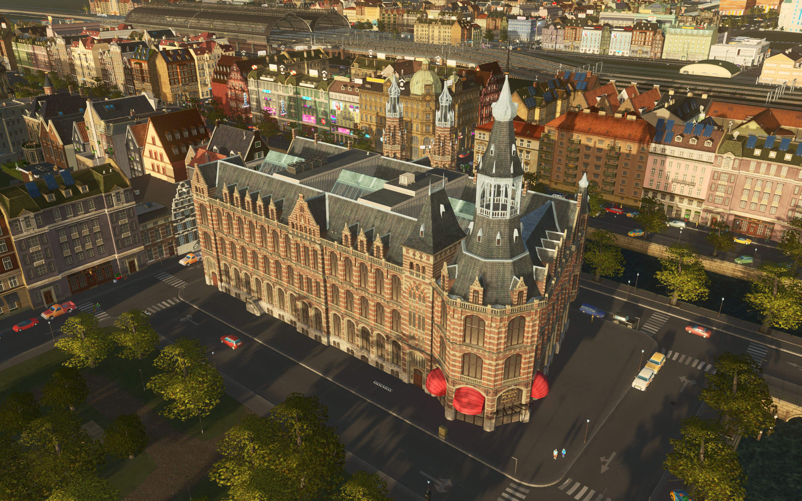 Cities: Skylines - Magna Plaza