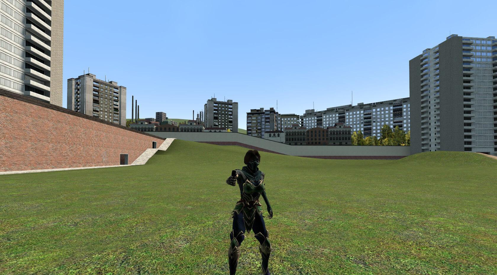 Garry's Mod - Джейд из Mortal Kombat 11 (Mobile)