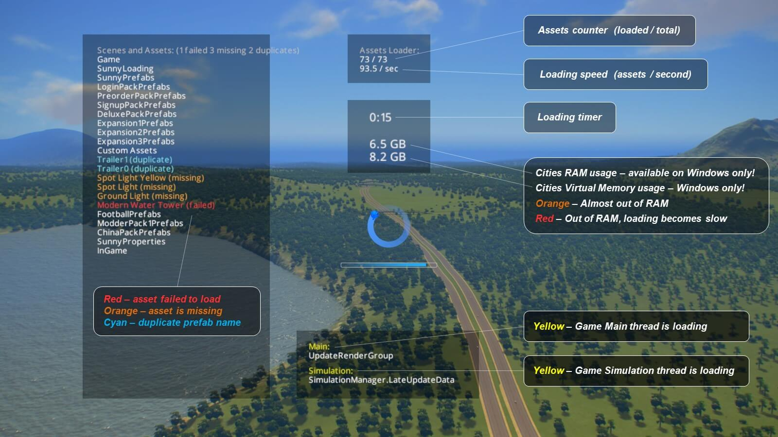 Cities: Skylines - Loading Screen Mod