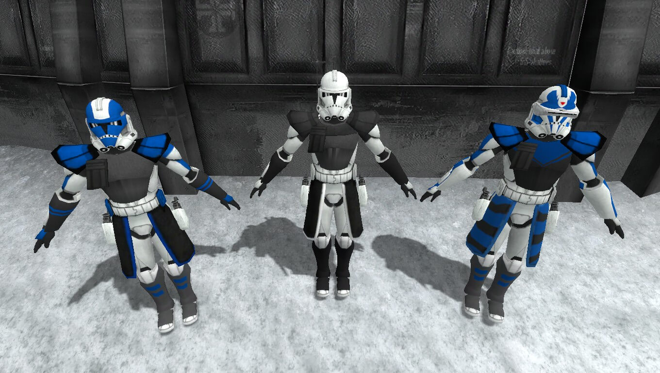 Garry's Mod - [SRSP] CGI Phase 2 - ARC Troopers