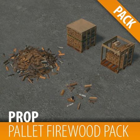 Cities: Skylines - Паллеты для дров / Pallet Firewood Pack