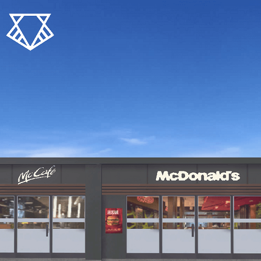 Cities: Skylines - McDonald's