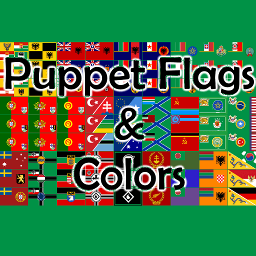 Hearts of Iron IV - Puppet Flags & Colors