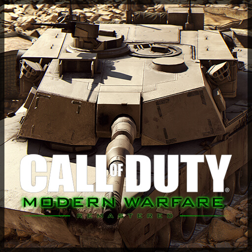 Garry's Mod - Modern Warfare Remastered - M1A1 Abrams