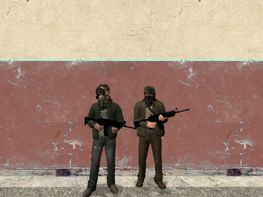 Garry's Mod - Battlefield 3 Solomon terrorists NPCs