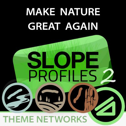 Cities: Skylines - Естественные склоны / Natural Slope Profiles