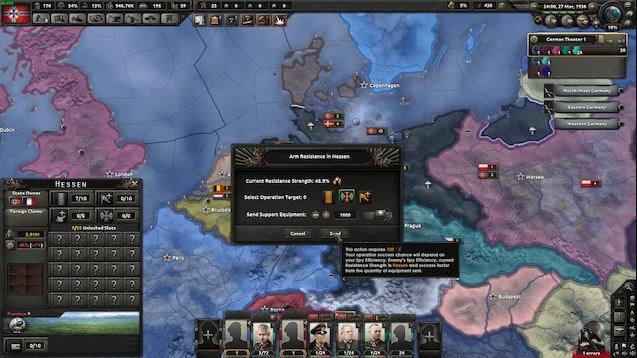 Hearth of Iron IV - Шпионаж (Kaiserreich)
