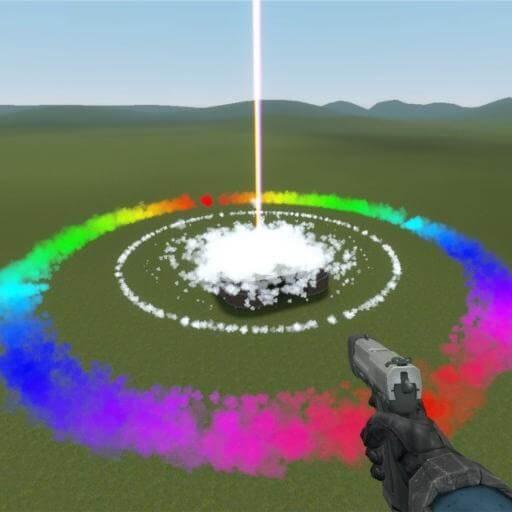 Garry's Mod - Орбитальная пушка дружбы