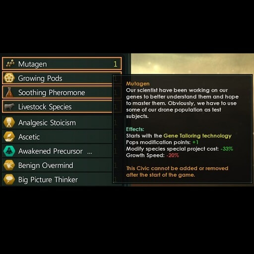 Stellaris - Wiirlak Additional Civics