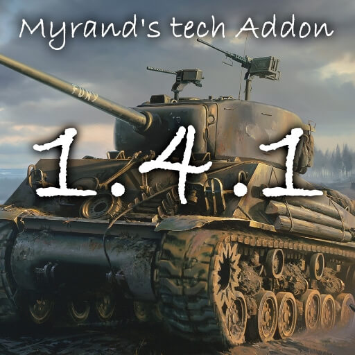 Hearts of Iron IV - Myrand's Tech Addon