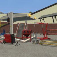 Garry's Mod - Гаражные штуки из GTA V