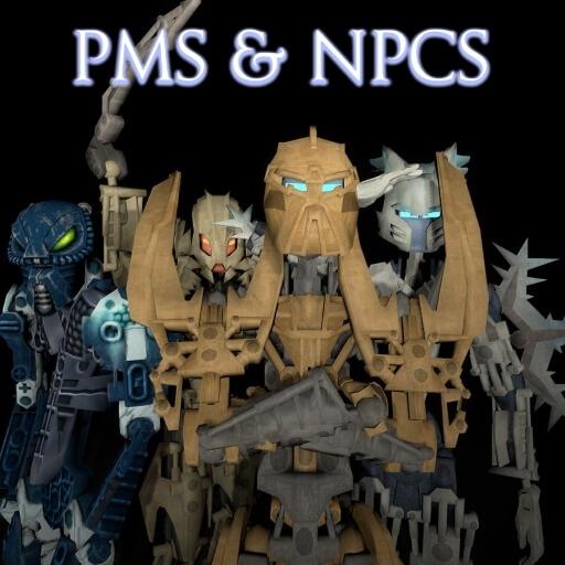 Garry's Mod - Биониклы (игровые модели и NPC)