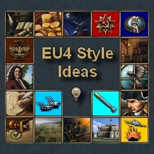 Hearts of Iron IV - EU4 Style Ideas