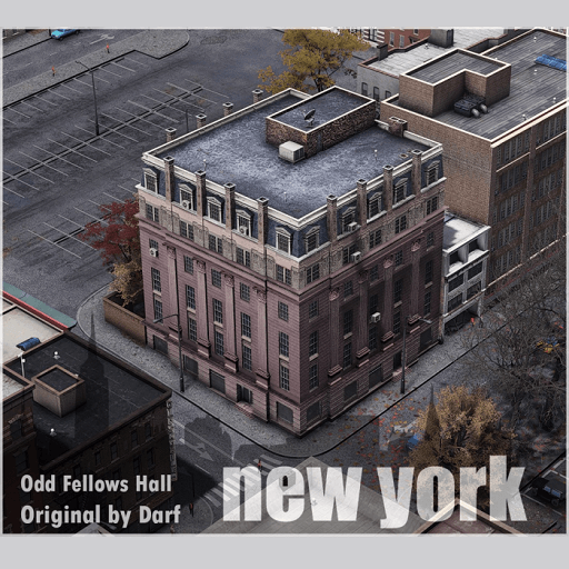Cities: Skylines - Odd Fellows hall