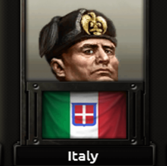 Hearts of Iron IV - Короткий Муссолини