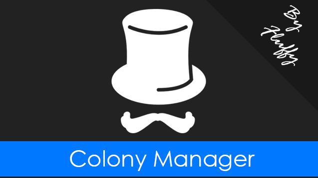 Rimworld - Менеджер колоний / Colony Manager