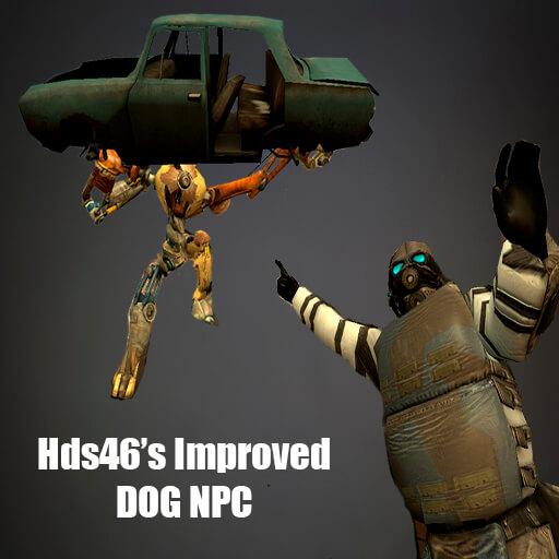 Garry's Mod - Улучшенный Пёс (NPC)
