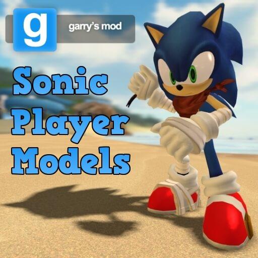 Garry's Mod - Модели для игрока из Соника