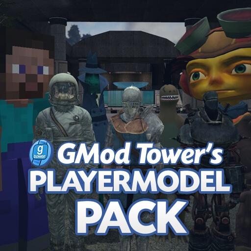 Garry's Mod - Пак моделей игроков из GMod Tower