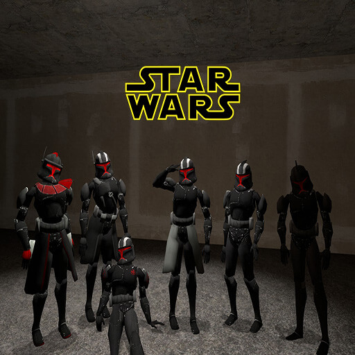 Garry's Mod - Star wars Shadow clones 1 phase (набор игровых моделей)