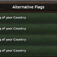 Hearts of Iron IV - Alternative Flags Decisions