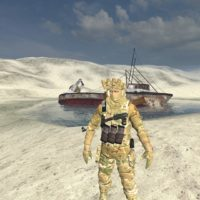 Garry's Mod - Солдат США в камуфляже (игровая модель)