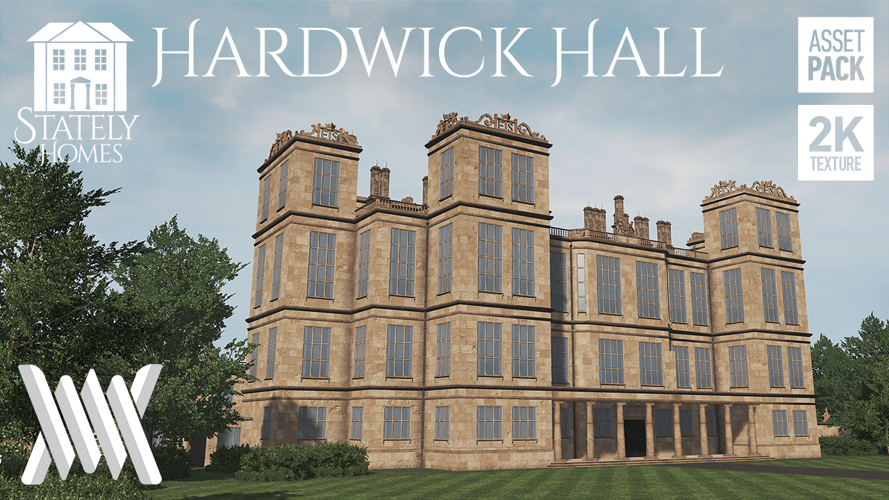 Cities: Skylines - Stately Homes: Hardwick Hall