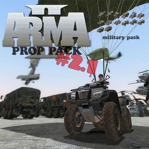 Garry's Mod - Пак военной техники из Arma II (пропы)