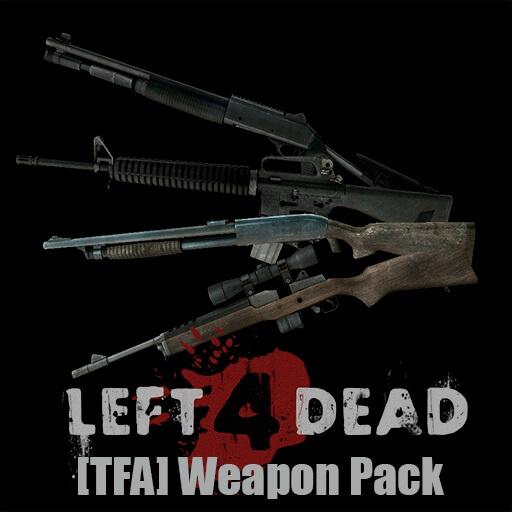 Garry's Mod - Пак оружия из Left 4 Dead [TFA]