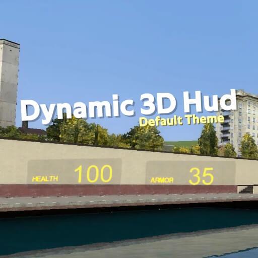 Garry's Mod - Динамический 3D интерфейс